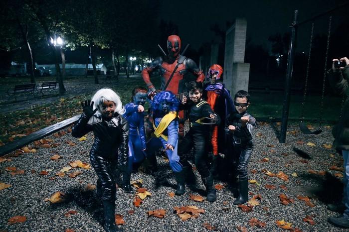 Ryan Reynolds Deadpool Halloween