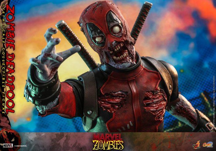 Zombie Deadpool Hot Toys Figure