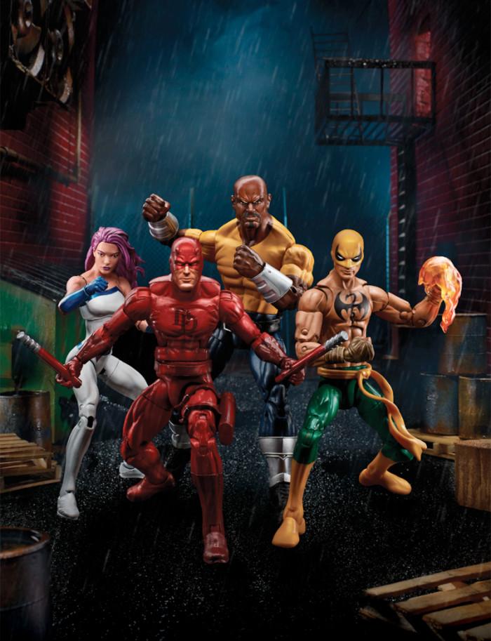 The Defenders Marvel Legends Figures