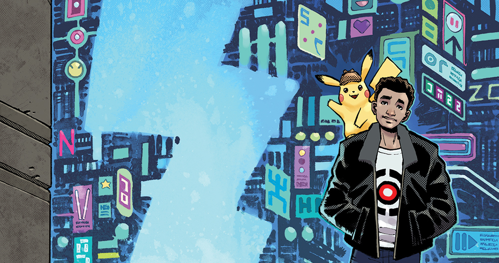 Detective Pikachu Graphic Novel To Be Released This Summer Film