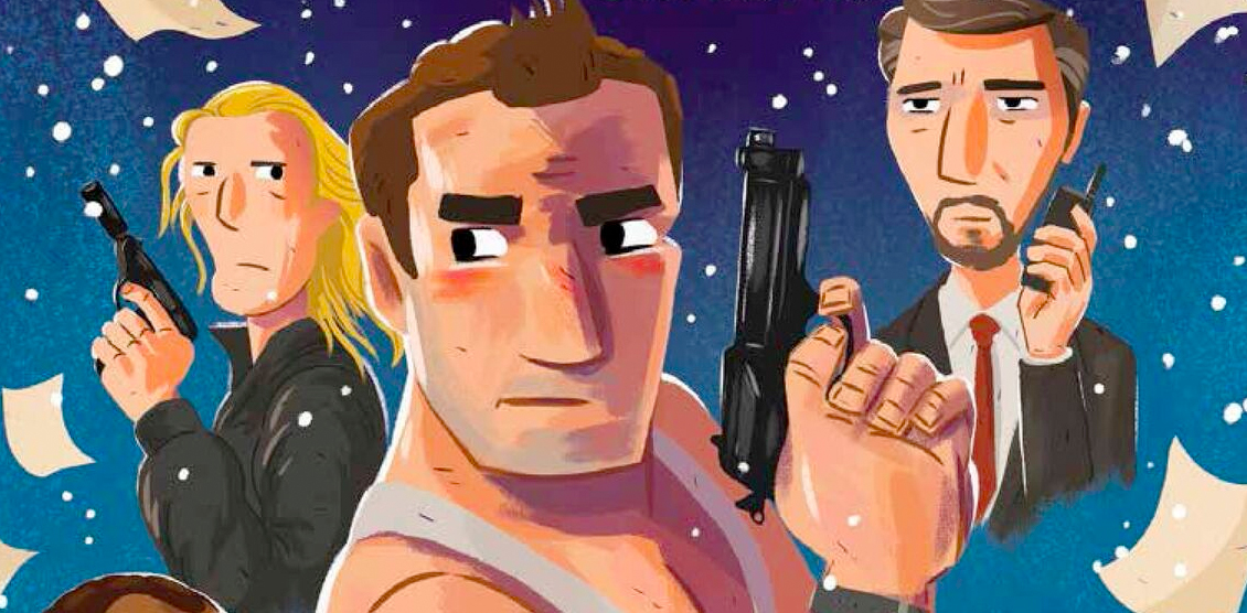 this illustrated die hard christmas book is a holiday treasure