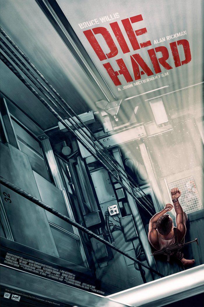 Die Hard Print - Sam Gilbey
