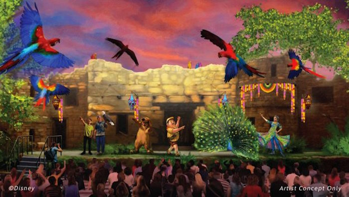 disney parks bits up bird show coming to animal kingdom