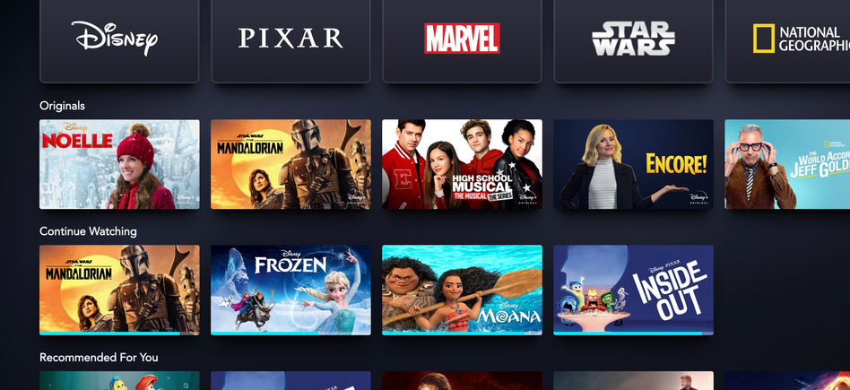 Disney Plus Continue Watching Section Now Available – /Film