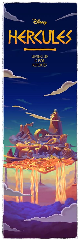 Ben Harman Disney Dreamland Art - Hercules