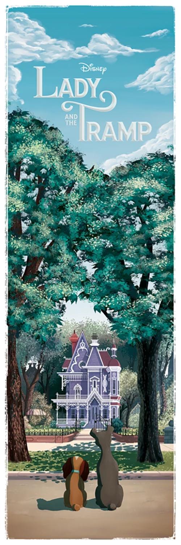 Ben Harman Disney Dreamland Art - Lady and the Tramp Summer