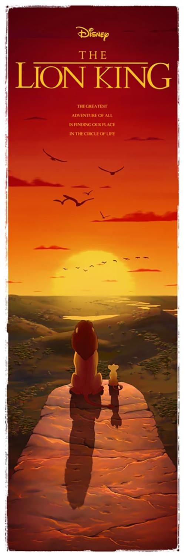 Ben Harman Disney Dreamland Art - The Lion King
