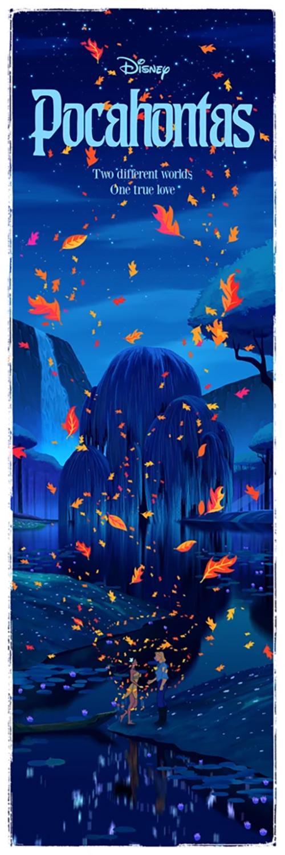 Ben Harman Disney Dreamland Art - Pocahontas