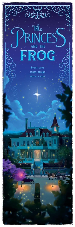 Ben Harman Disney Dreamland Art - The Princess and the Frog