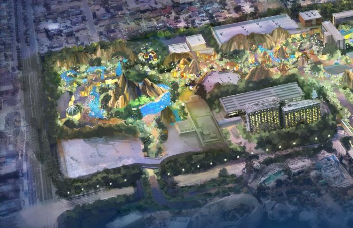 Disneyland Immersive Theme Park Expansion - Disney California Adventure
