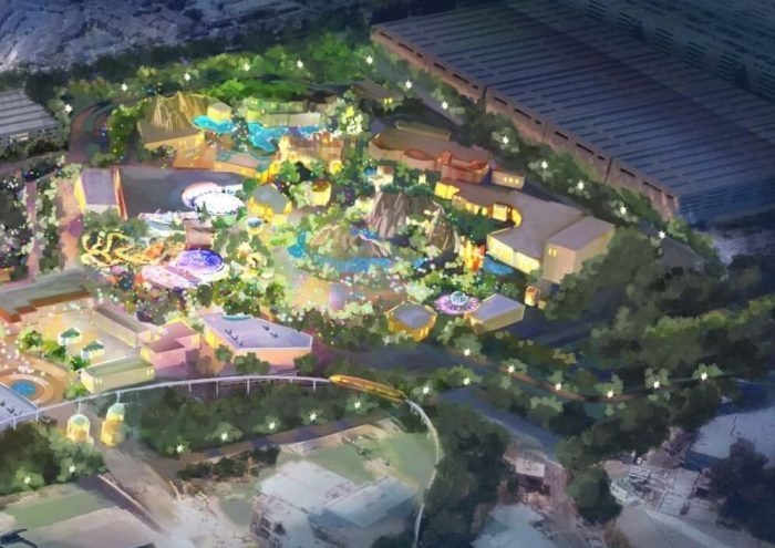 Disneyland Immersive Theme Park Expansion - Disneyland