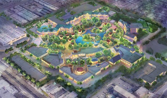 Disneyland Immersive Theme Park Expansion - Disney Springs