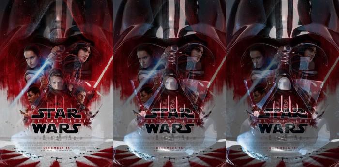 The Last Jedi Vader Poster