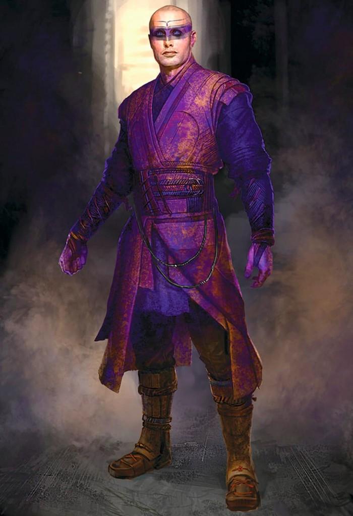 Doctor Strange - Kaecilius Concept Art