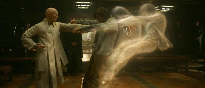 Doctor Strange - Tilda Swinton and Benedict Cumberbatch
