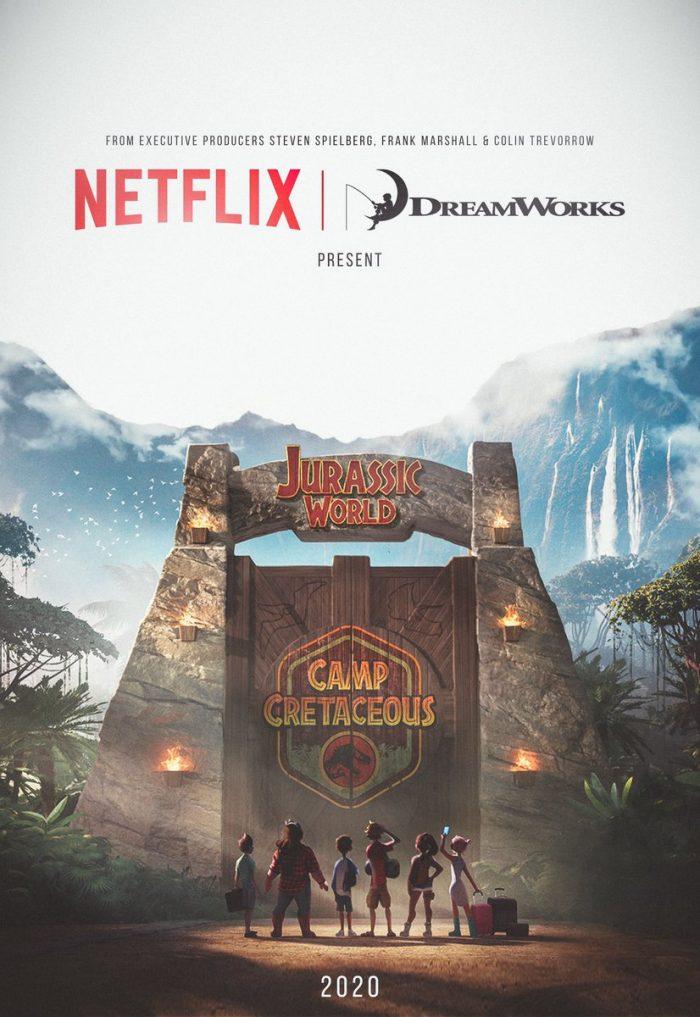 jurassic world animated series poster