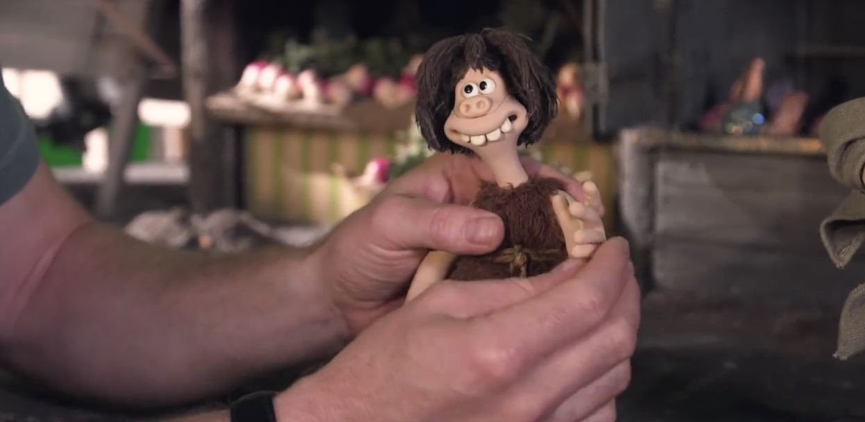 making of early man the step by step process of stop motion animation film