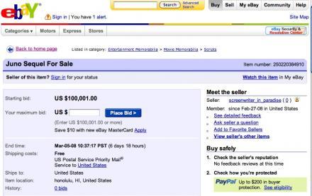 Juno 2 on ebay