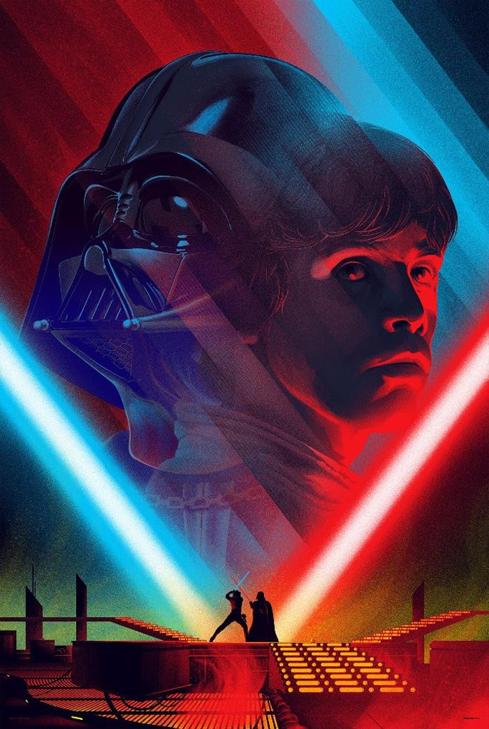 Kevin Tong Star Wars Prints