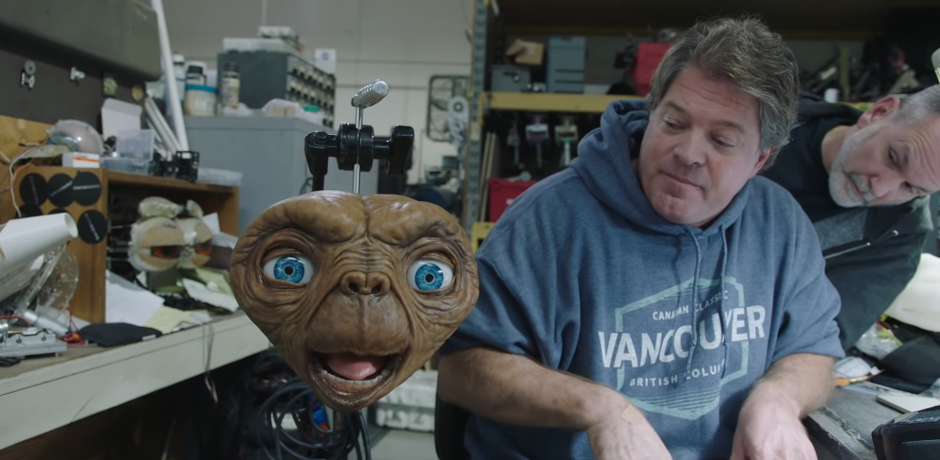 VOTD: Making of the 'E.T. The Extra Terrestrial' Christmas Commercial from Xfinity