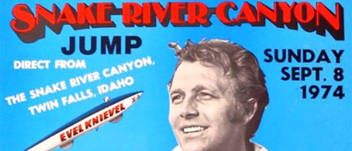 Evel Knievel - Snake River Canyon Jump