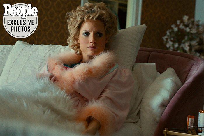 Jessica Chastain in Tammy Faye Bakker Movie