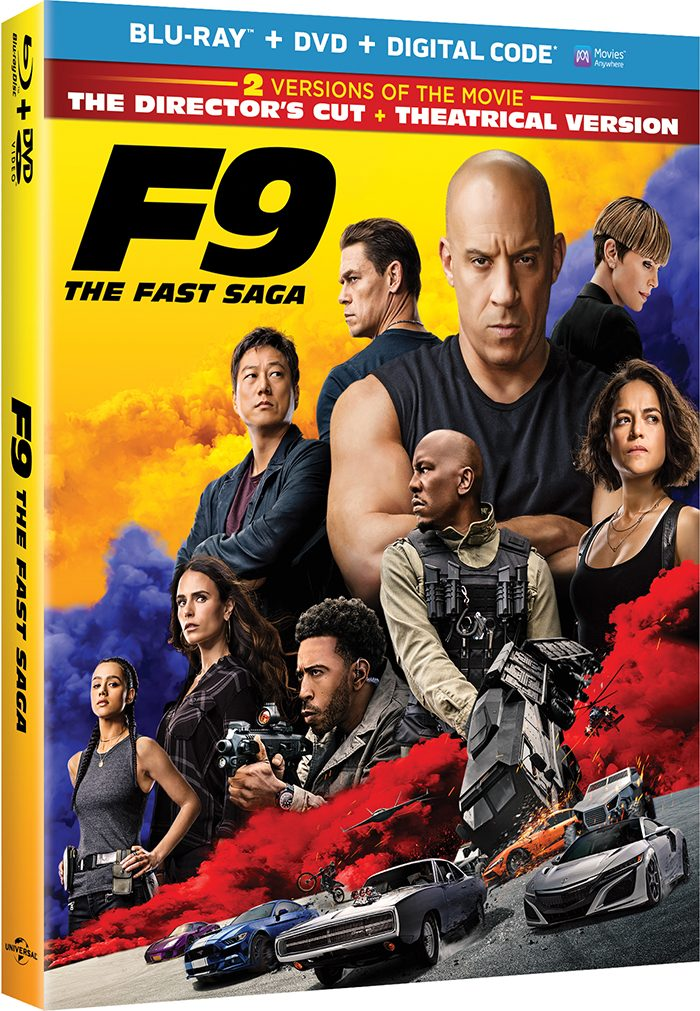 F9 Blu-ray and DVD Release Date