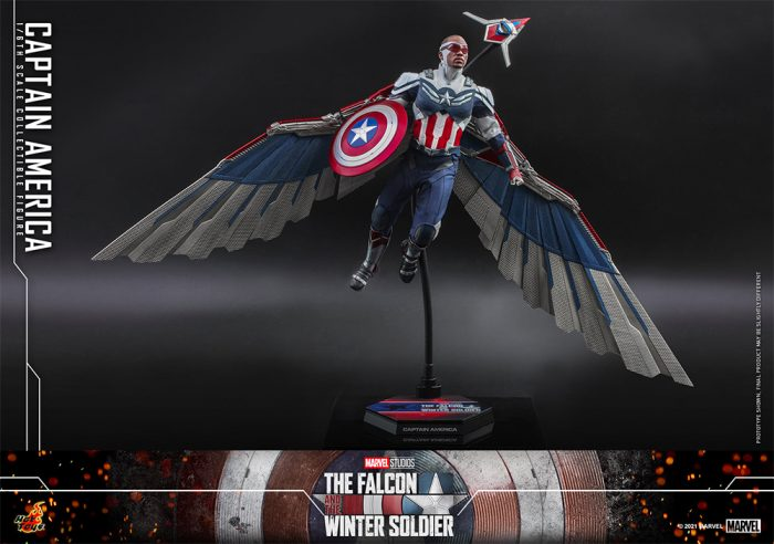 The Falcon and The Winter Soldier Hot Toys Figure