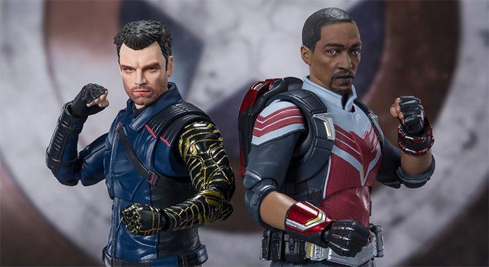 The Falcon and the Winter Soldier SH Figuarts Figure