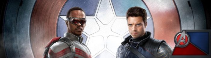 The Falcon and the Winter Soldier Zazzle Banner