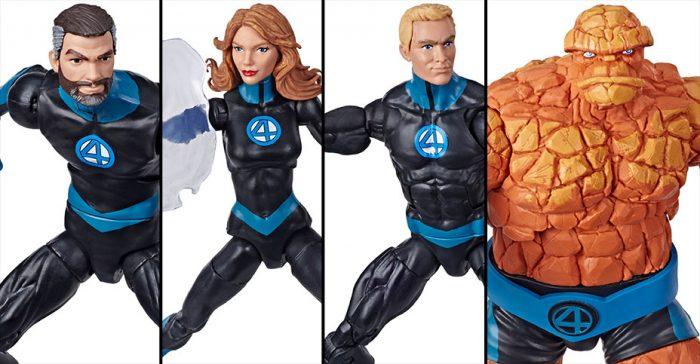 Fantastic Four Marvel Legends 2019