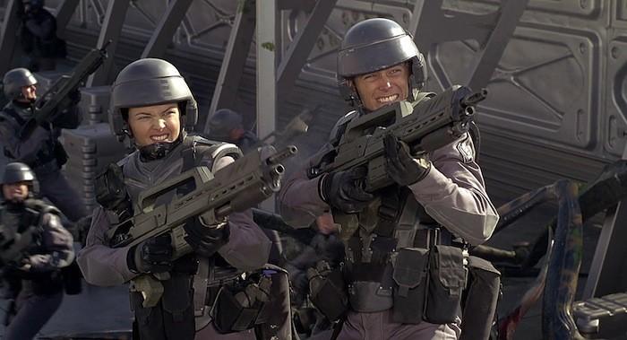 favorite movies starship troopers