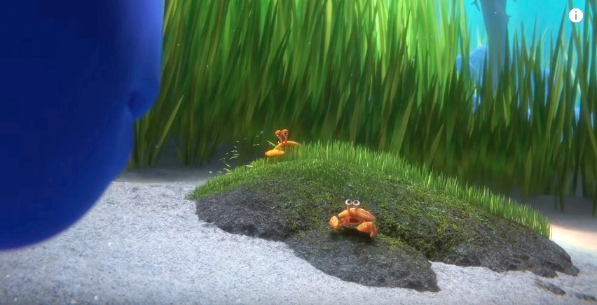 Image result for finding dory Husband Crab