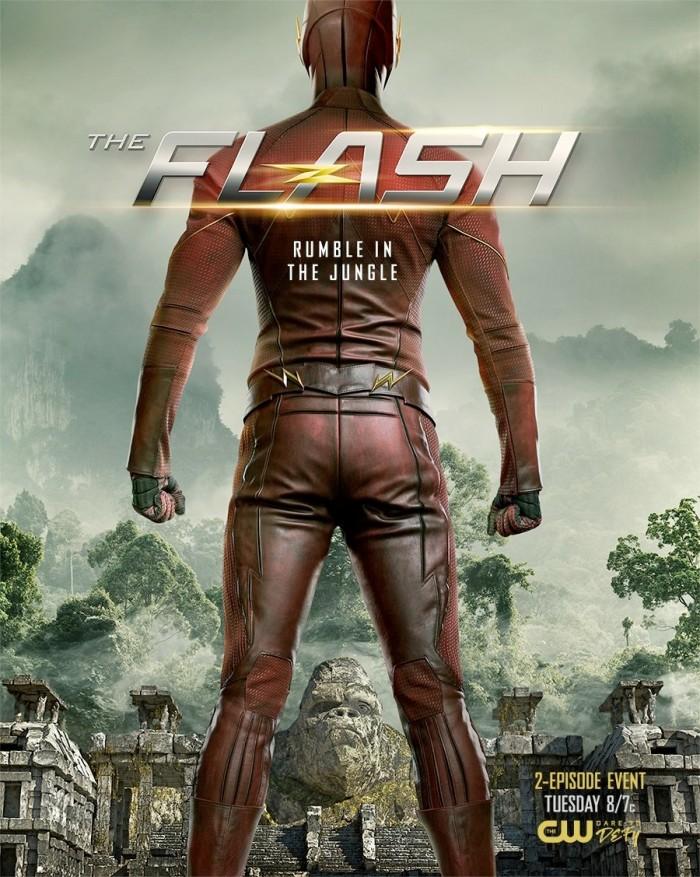 The Flash - Gorilla City Poster