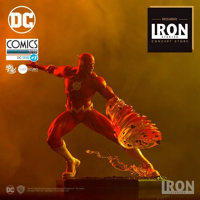 Iron Studios The Flash Statue