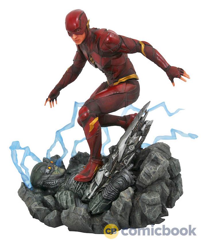 Justice Leauge - The Flash PVC Diorama
