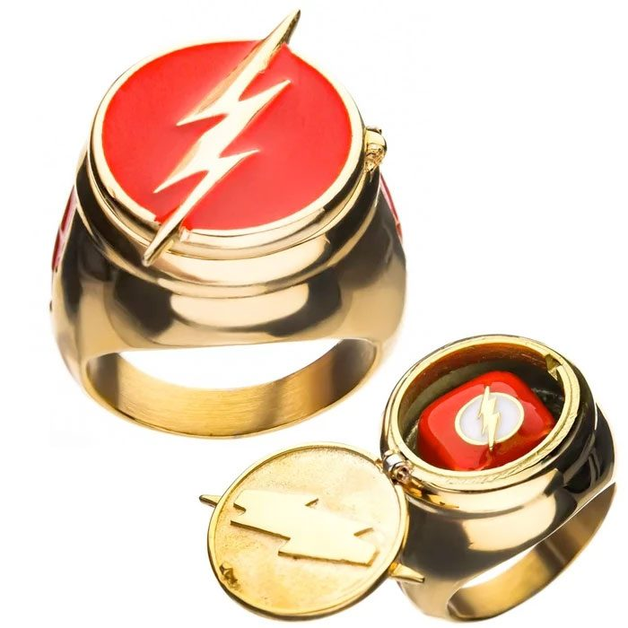 The Flash Costume Container Ring