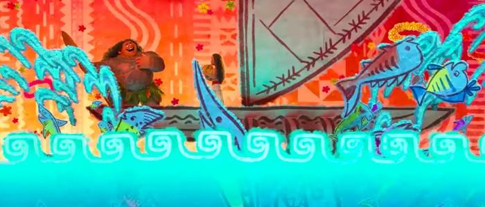 Flounder Moana easter egg