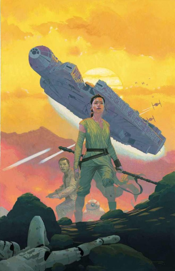 force awakens comic cover