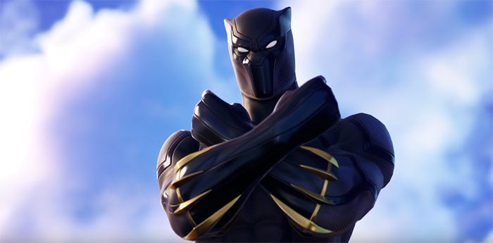 Black Panther in Fornite