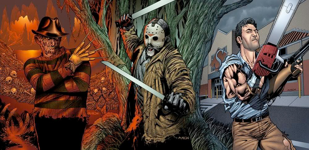Image result for freddy vs jason comics