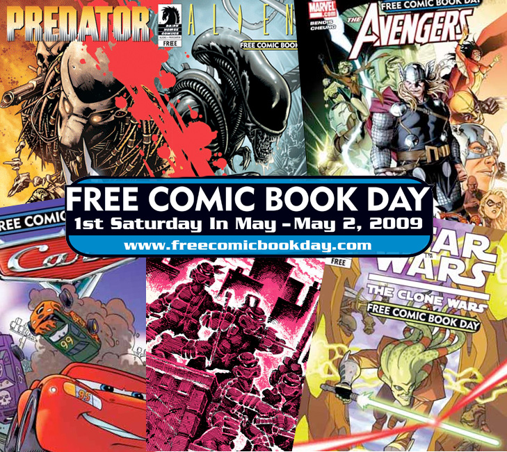 Geek Deal: Free Comic Book Day On May 2nd 2009