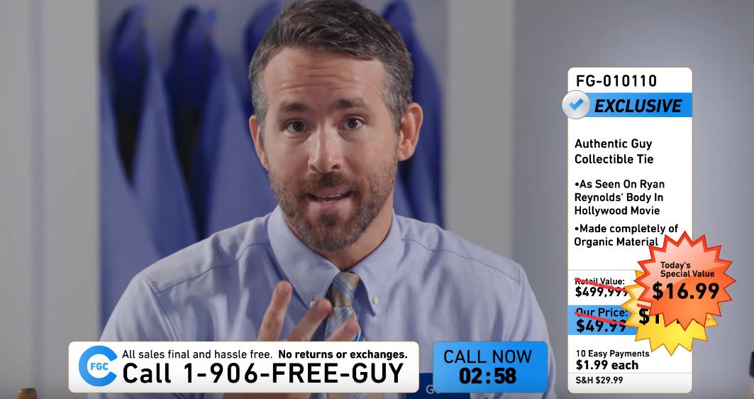 Free Guy Teaser Ryan Reynolds Is Already Selling Movie Merch Film