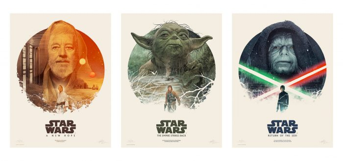 Gabz Art Gallery Show - Star Wars Trilogy