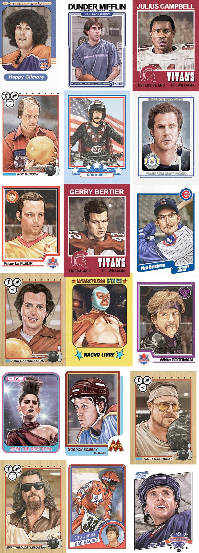 Gallery 1988 Cuyler Smith Trading Cards 3