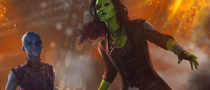 Gamora Nebula Guardians of the Galaxy