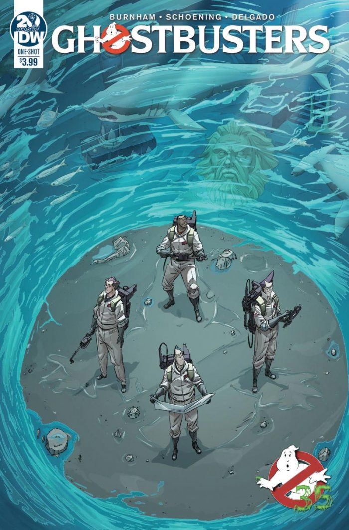 Ghostbusters 35th Anniversary Comics