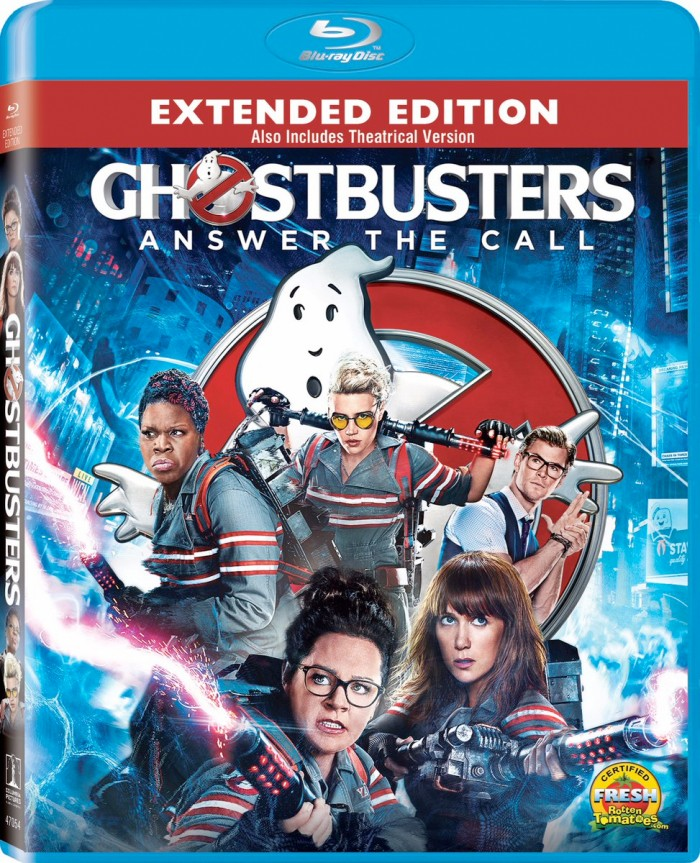 Ghostbusters Extended Cut - Blu-ray Cover
