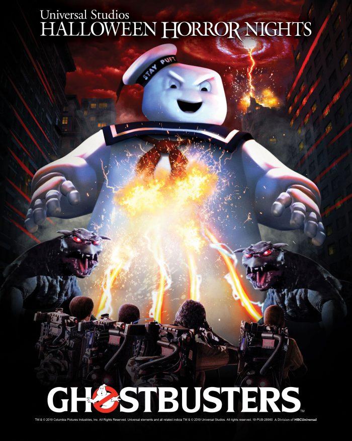 Ghostbusters Halloween Horror Nights Maze