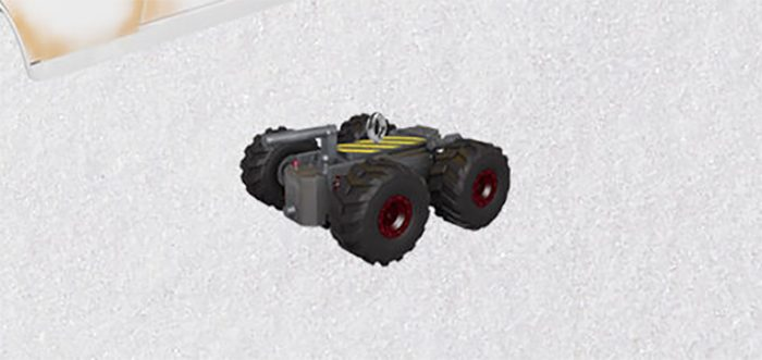 Ghostbusters: Afterlife Hallmark Christmas Ornament - Remote Trap Vehicle